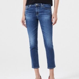 AG Prima Crop Stretch Skinny Jeans